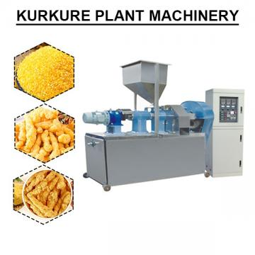Self-cleaning 70-100kw Kurkure Plant Machinery With Plc Control System