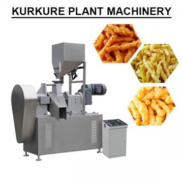Easy Operation 100kg/h Automatic Kurkure Plant Machinery For Extruded Snack
