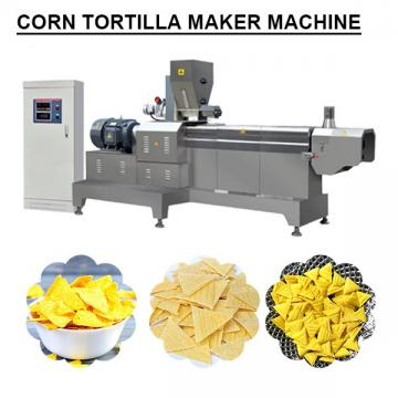 Full Automatic Low Noise Corn Tortilla Maker Machine With Plc Control System
