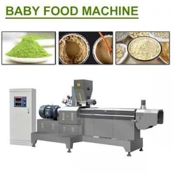 Iso Ce Certification Baby Food Machine With Siemens Motor,Easy Operation