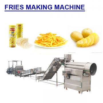 Multifunction Low Noise Fries Making Machine With Plc Control System